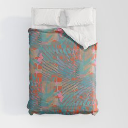 Coral Tides Comforters