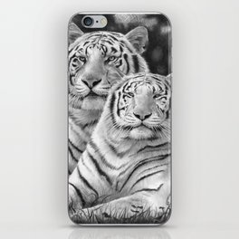Two Tigers iPhone Skin