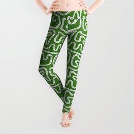 Green Speed Racers Leggings