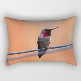 Annas Hummingbird Rectangular Pillow