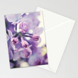 Lilac Buds Stationery Cards