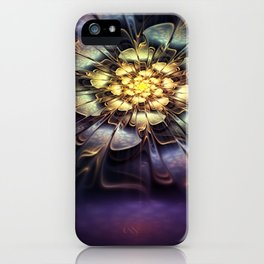Flower light effect iPhone Case