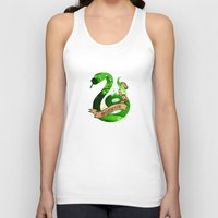 slytherin Tank Tops featuring Slytherin by Markusian