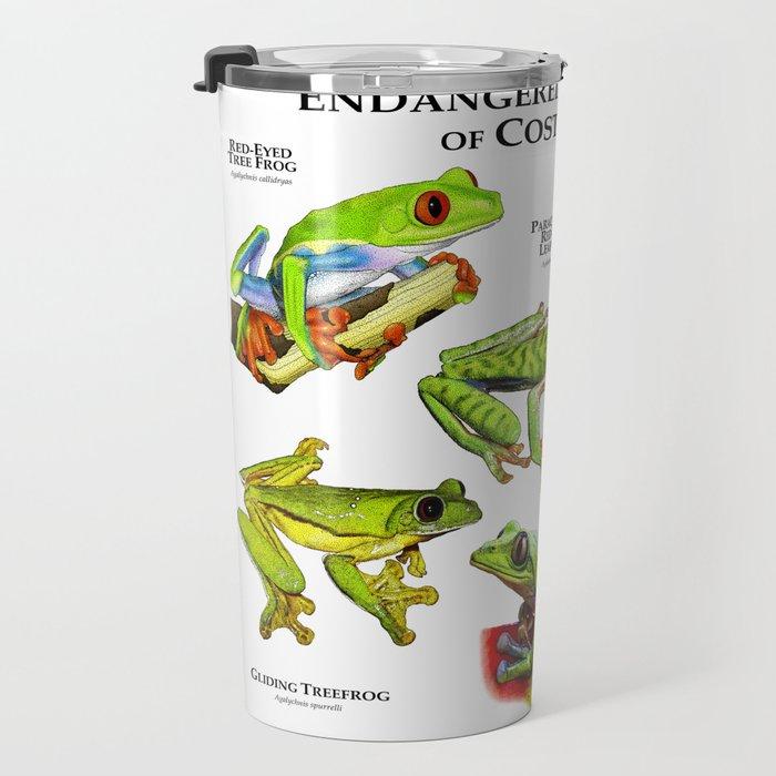 Endangered Treefrogs of Costa Rica Travel Mug
