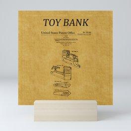 Toy Bank Patent 3 Mini Art Print