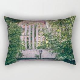 backyard Rectangular Pillow