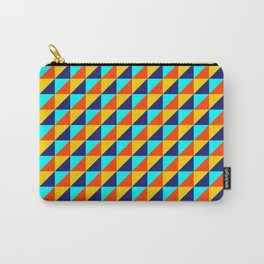 Colorful Square (Fancy Color) Carry-All Pouch