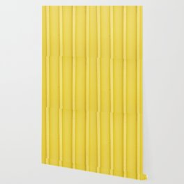 Urban Wood - Canary Yellow Wallpaper