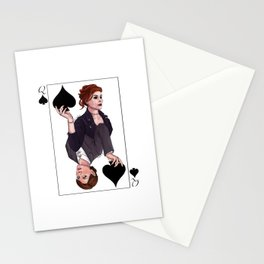 Queens of Spades Stationery Cards