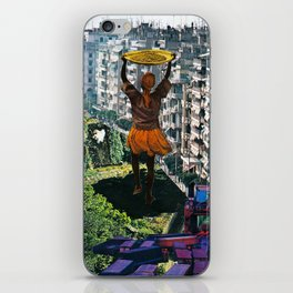 A Half Drowned World iPhone Skin