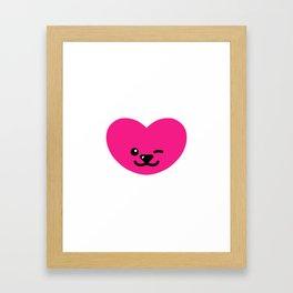 Love Bear II - blinking Framed Art Print