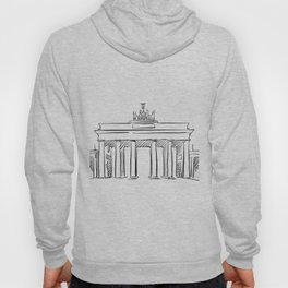 Brandeburg Gate in Berlin Hoody