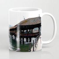switzerland Mugs featuring Switzerland (Travel) by Laura Vaisman