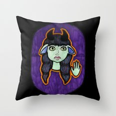 Mirth Throw Pillow