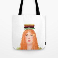 Book girl 02 Tote Bag