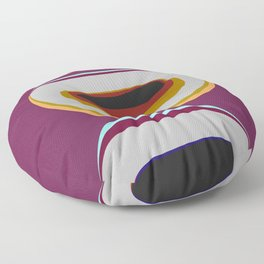 The illusion of form 2  Floor Pillow