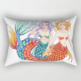 mermaidens Rectangular Pillow