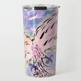 In Awe Of The Cosmic Phoenix Travel Mug