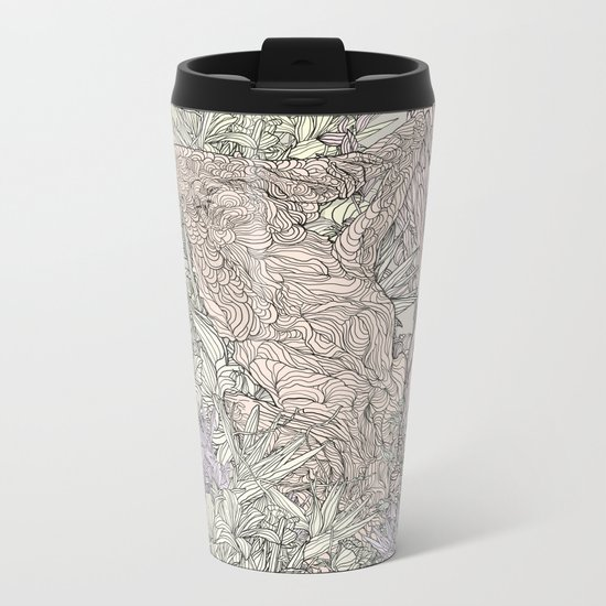Contrast of life Metal Travel Mug