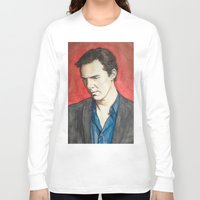 benedict Long Sleeve T-shirts featuring Benedict by IamDeirdre
