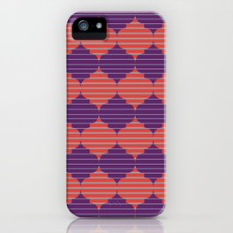 Morocco Neon iPhone Case