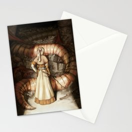 The Midwife and the Lindworm Stationery Cards