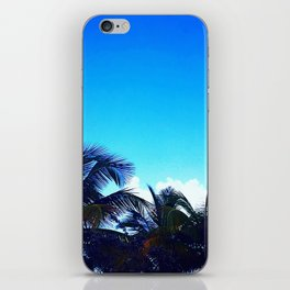 Vieques Palm Trees iPhone Skin