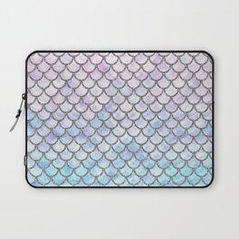 Pastel Mermaid Scales Pattern Laptop Sleeve