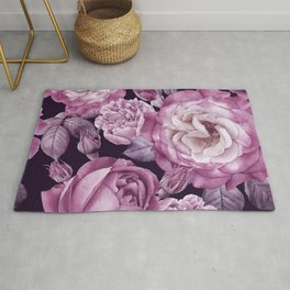 Wildflower rose flower in a watercolor style isolated Full name of the plant rose hulthemia rosa Rug