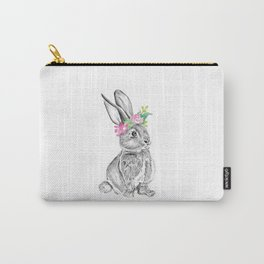 Bunny | Animal Illustration Carry-All Pouch