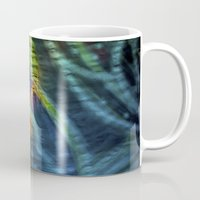 hippy Mugs featuring Hippy Flag by Mingo