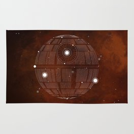 Constellation Death Star Rug