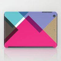 triangles iPad Cases featuring Triangles by Pencil Me In ™