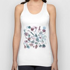 autumn flowers Unisex Tank Top