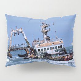 Shipwreck on the Coast of the Skeletons, Namibia Pillow Sham