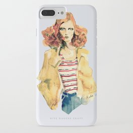 Portrait of Karen Elson iPhone Case
