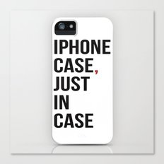 Iphone Case Canvas Print