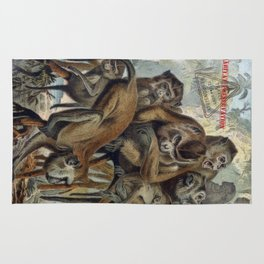 Macaques for Responsible Travel Rug