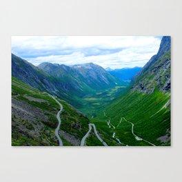 Snake Road Canvas Print
