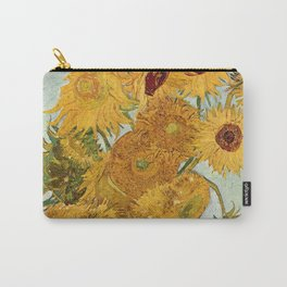 Van Gogh - sunflowers Carry-All Pouch