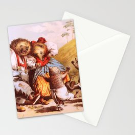 Carl Offterdinger - The Rabbit And The Hedgehog - Digital Remastered Edition Stationery Cards