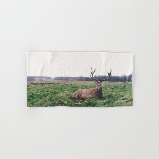 Deer #landscape Hand & Bath Towel