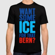 Ice for That Bern SMALL Black Mens Fitted Tee