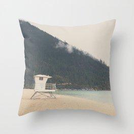 Lake Tahoe Sand Harbor photograph Throw Pillow