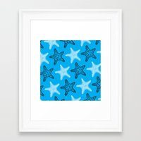 starfish Framed Art Prints featuring Starfish by Dana Martin