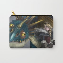 astrid & stormfly HOW TO TRAIN YOUR DRAGON 2 Carry-All Pouch