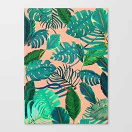 summer topical Nature Canvas Print