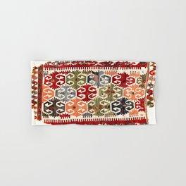 Sivrihisar  Antique Eskisehir Province Turkish Kilim Print Hand & Bath Towel