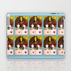 Love Rainbow and Hearts Laptop & iPad Skin