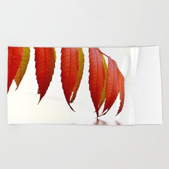 Autumn Foliage 183 Beach Towel
